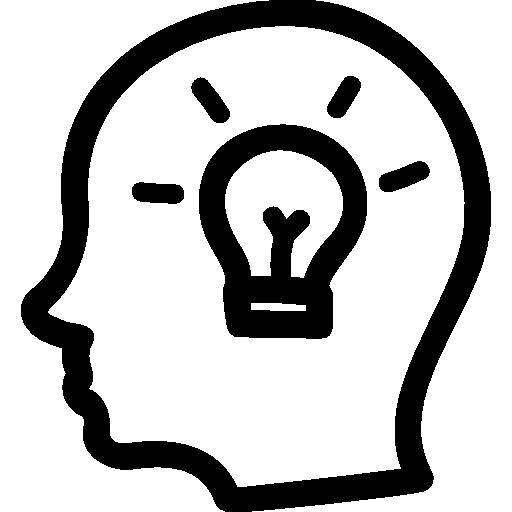 idea-hand-drawn-symbol-of-a-side-head-with-a-lightbulb-inside